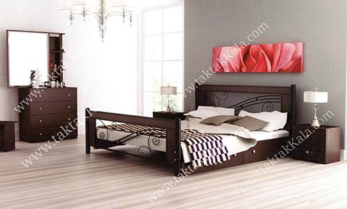 تخت خواب دو نفره مدل ملودی