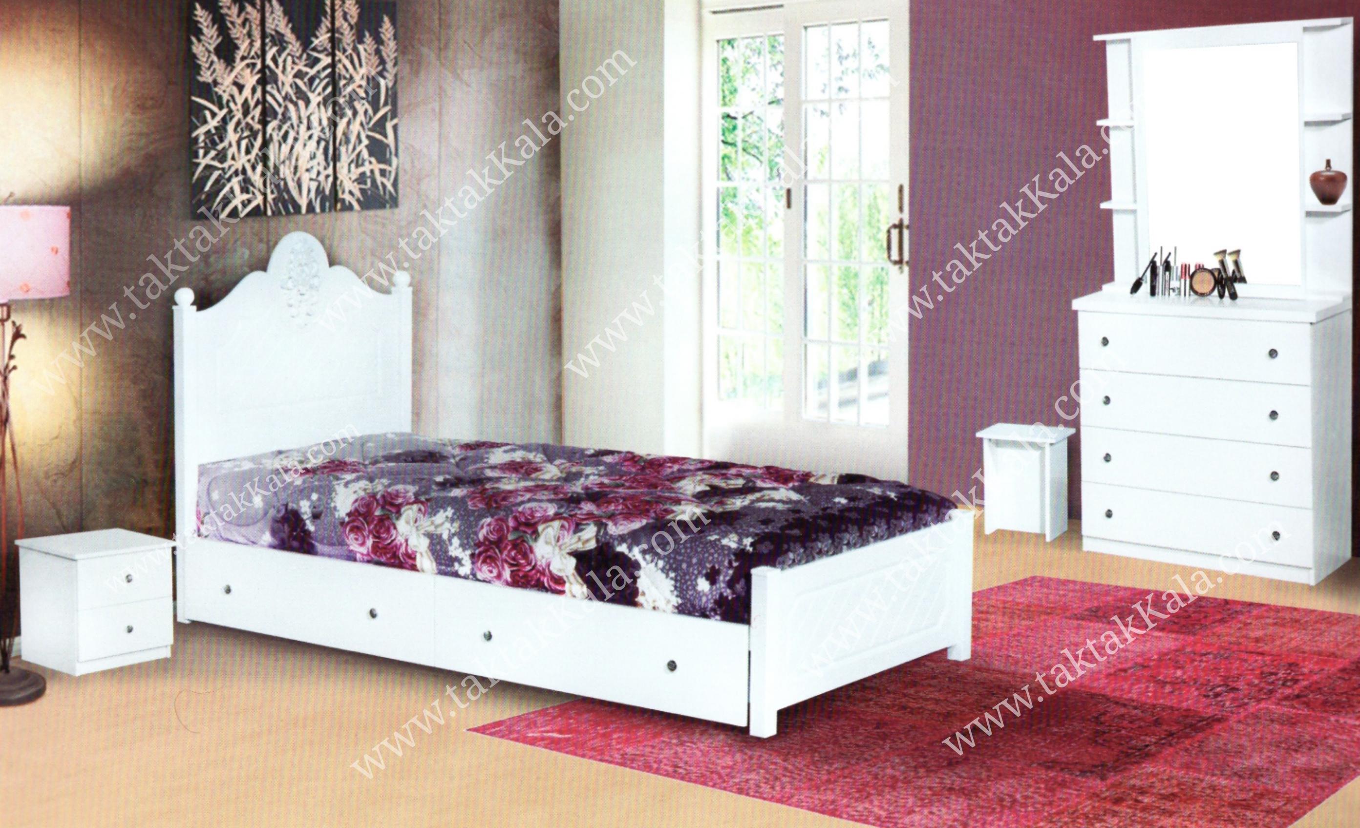 تخت خواب مدل سرو