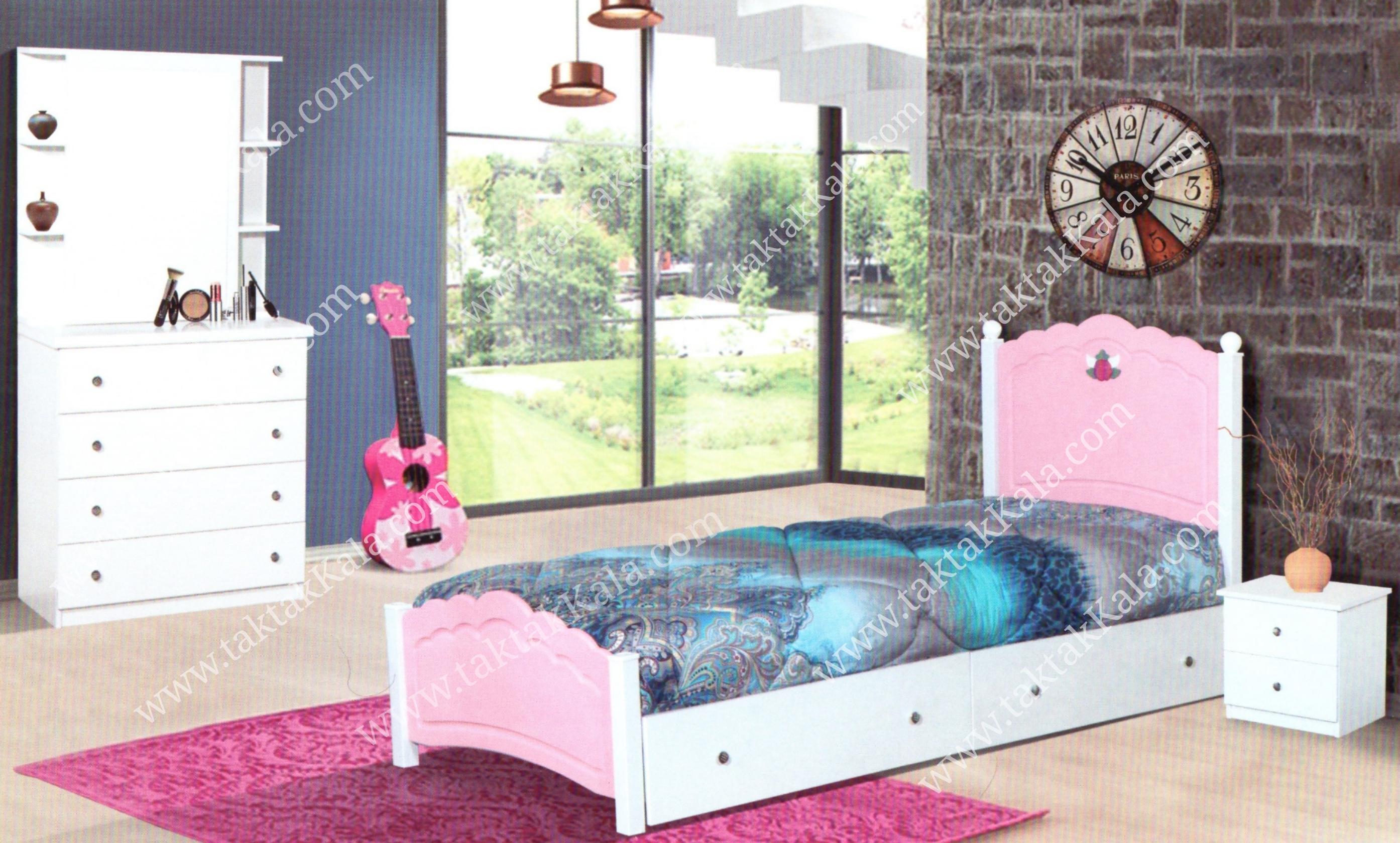 تخت خواب مدل کاملیا