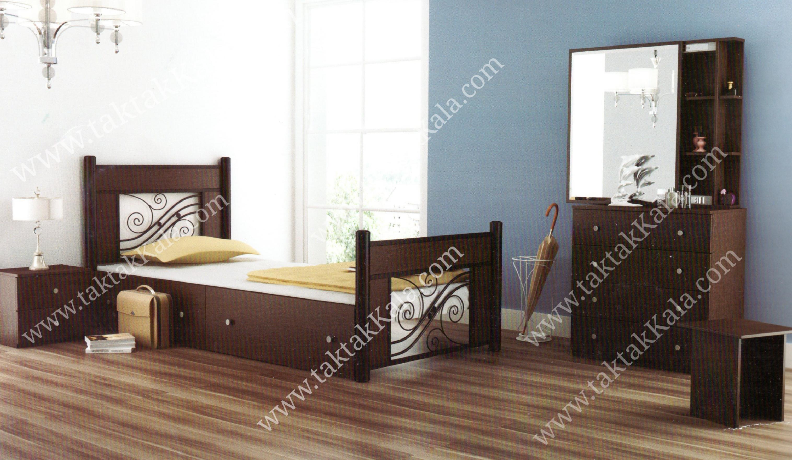 تخت خواب مدل ملودی
