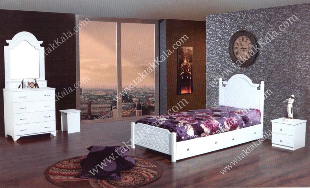 تخت خواب مدل روژان