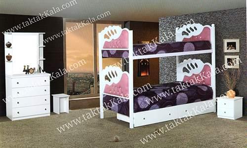 تخت خواب دو طبقه مدل لیلیوم